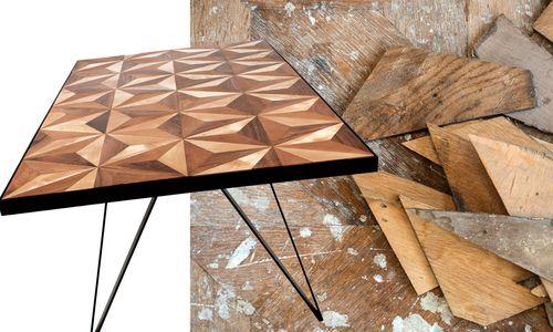 """Der Tisch """"Four to the Floor"""", in limitierter Auflage. Unter www.spolia.at"""