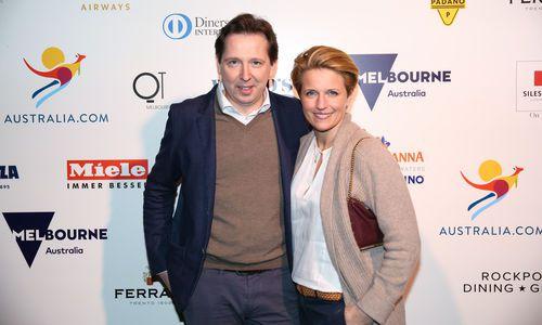 Heinz und Birgit Reitbauer waren zur Preisverleihung in Melbourne.