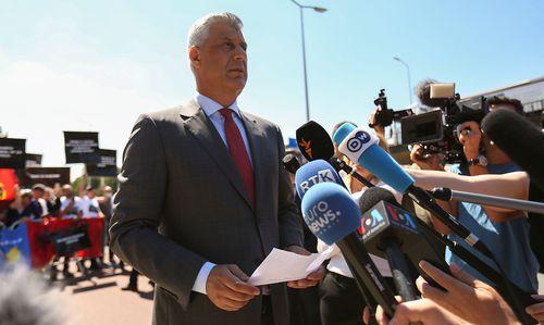Thaçi verteidigt sich in Den Haag gegen Vorwürfe