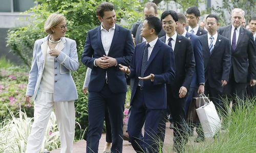 Kurz zu Besuch beim reichsten Mann Chinas