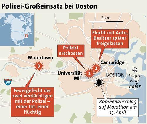 BostonAnschlag Polizei jagt extrem