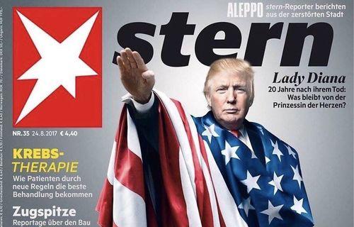 """Deutsche Juden empört über Trump als Nazi auf Titelseite des """"Stern"""""""