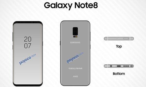 Das Galaxy Note 8 soll dem iPhone die Show stehlen
