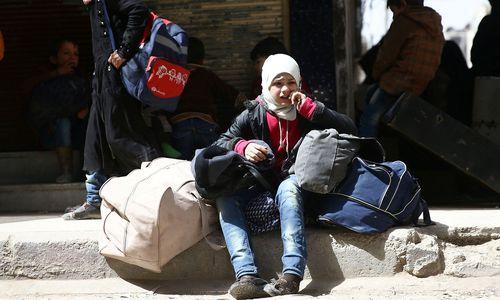 Tausende fliehen aus Rebellengebiet in Ost-Ghouta