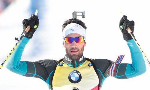 Biathlon: Fourcade feiert den nächsten Sieg