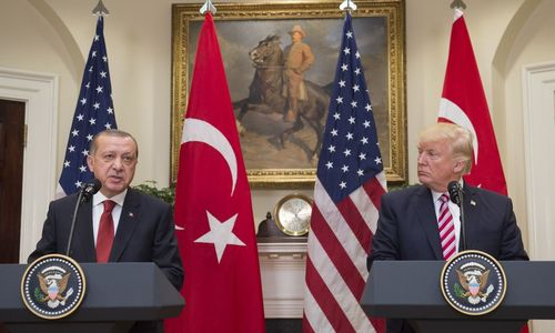 Erdoan und Trump reden miteinander
