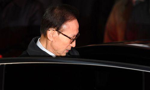 Südkoreas Ex-Präsident Lee Myung-bak verhaftet