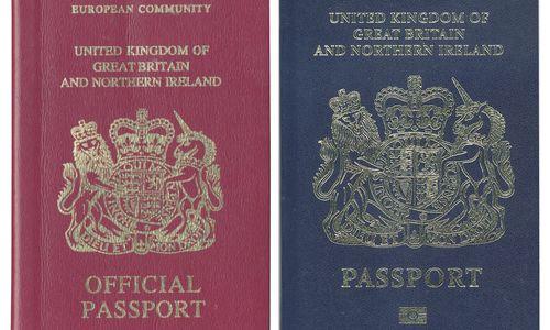 Britische Reisepässe sollen nach Brexit im Ausland hergestellt werden