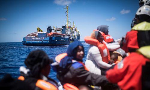 Justiz ermittelt gegen Kapitän des Sea-Watch-Rettungsschiffs