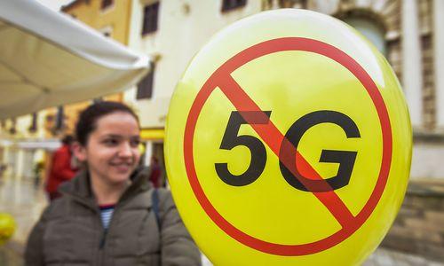 Protestaktionen in der Schweiz gegen 5G