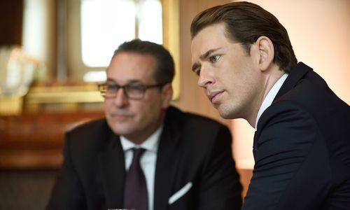 """Chatverläufe zwischen Strache und Kurz auf Stufe """"eingeschränkt"""" zurückgestuft"""