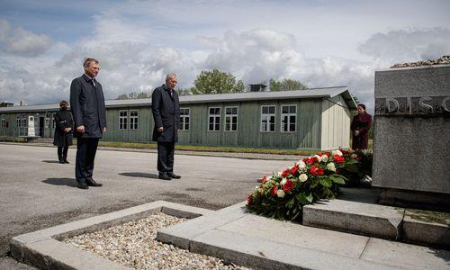 Stilles Gedenken des Bundespräsidenten in Mauthausen