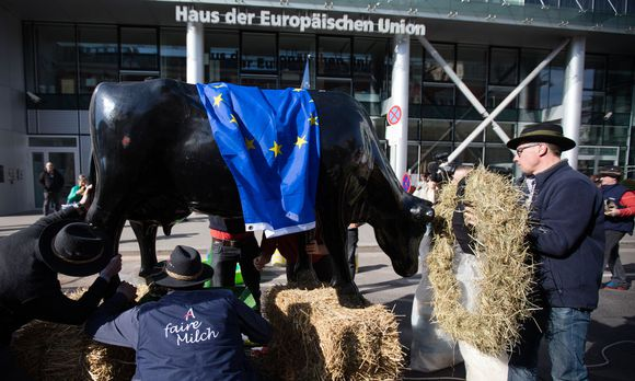 DEMONSTRATION IG MILCH