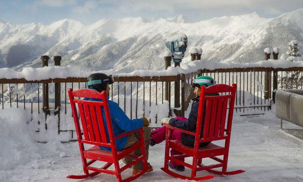 (c) Jeremy Swanson Auf den Pisten in Aspen drängt es sich nicht, das gilt auch für Hütten.