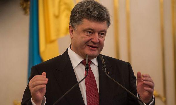 Keine Lust auf ein Duell: der ukrainische Präsident Petro Poroschenko / Bild: APA/EPA/FILIP SINGER