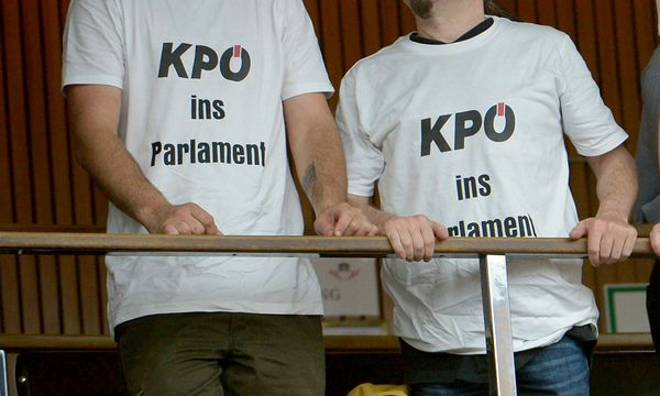 KPÖ - seit 1945 stets dabei / Bild: (c) APA