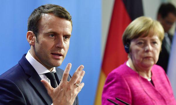 """Emmanuel Macron plädiert für eine neue """"Allianz des Vertrauens"""" mit Deutschland / Bild: AFP (JOHN MACDOUGALL)"""
