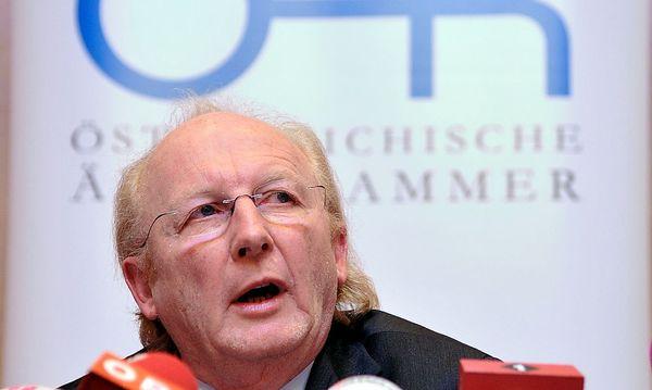 Ärztekammer-Präsident Artur Wechselberger. / Bild: (c) Dapd (Hans Punz)