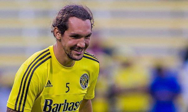Pogatetz im September bei einem Match seines US-Vereins Columbus Crew / Bild: GEPA pictures