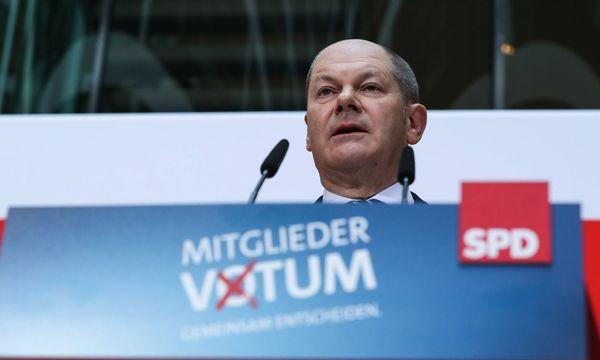 SPD-Interims-Chef Olaf Scholz / Bild: imago/Xinhua