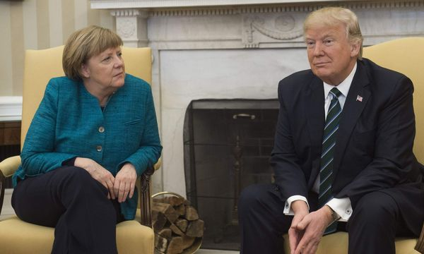 Angela Merkel, Donald Trump / Bild: APA/AFP/SAUL LOEB