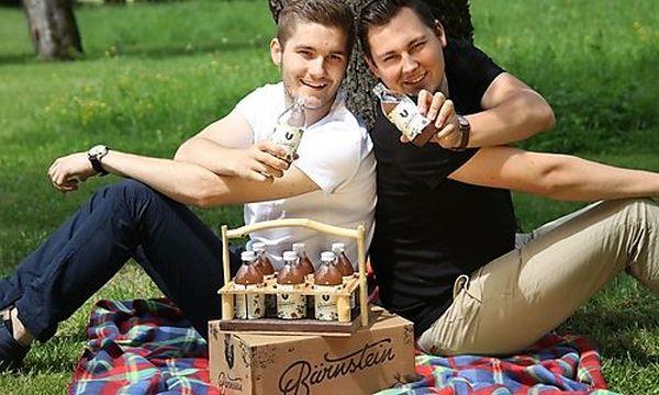 Die beiden Bärnstein-Gründer Lukas Renz(links) und Martin Paul(rechts) /