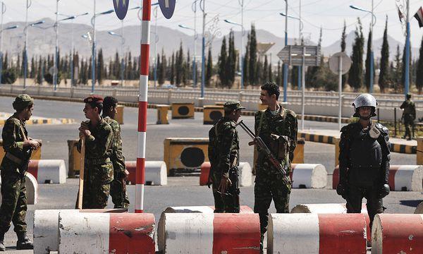 Straßensperren / Bild: (c) AP (Hani Mohammed)