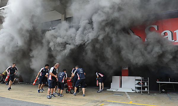 Brand in Williams-Box / Bild: (c) GEPA pictures (Gepa Pictures/ Panoramic)