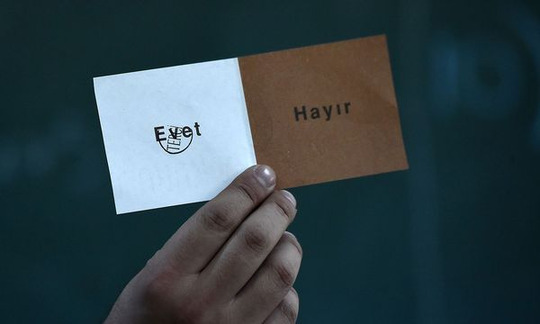 Die AKP sieht sich als Sieger des Referendums. / Bild: (c) APA/AFP/OZAN KOSE (OZAN KOSE)