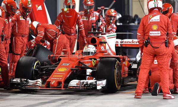 Ferrari feierte in Bahrain den nächsten Saisonerfolg. / Bild: REUTERS