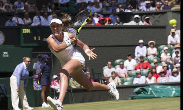 Johanna Konta und der große Wurf in Wimbledon.  / Bild: (c) imago/i Images (Stephen Lock / i-Images)