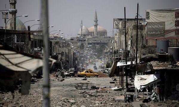 Eine Millionenstadt liegt in Trümmern. Die Gefechte zwischen der irakischen Armee und den Jihadisten des IS haben in Mossul schwere Zerstörungen angerichtet. / Bild: (c) REUTERS (Alkis Konstantinidis)