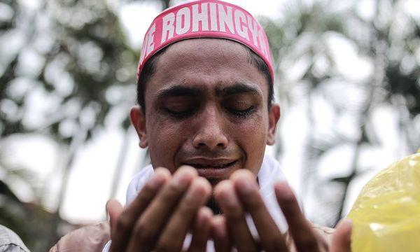 Die muslimischen Rohingya stehen in Myanmar massiv unter Druck / Bild: imago/Pacific Press Agency