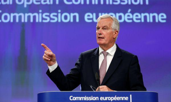 Der Ton zwischen Brüssel und London (im Bild Chefverhandler Michel Barnier) verschärft sich. / Bild: (c) REUTERS (FRANCOIS LENOIR)