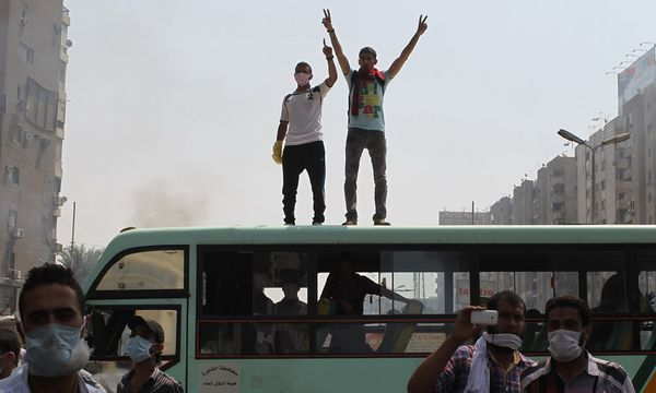 koennt noch Demokratie reden / Bild: (c) REUTERS (ASMAA WAGUIH)