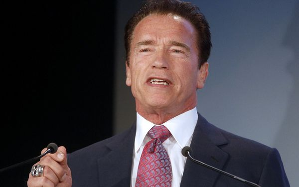 Arnold Schwarzenegger / Bild: (c) APA GEORG HOCHMUTH (GEORG HOCHMUTH)