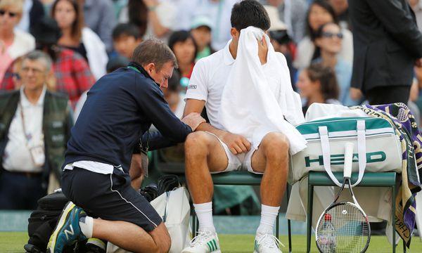 Djokovic muss w.o. geben / Bild: REUTERS