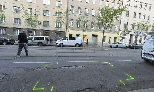 Der Ort des Geschehens in der Jägerstraße. / Bild: APA/HERBERT PFARRHOFER