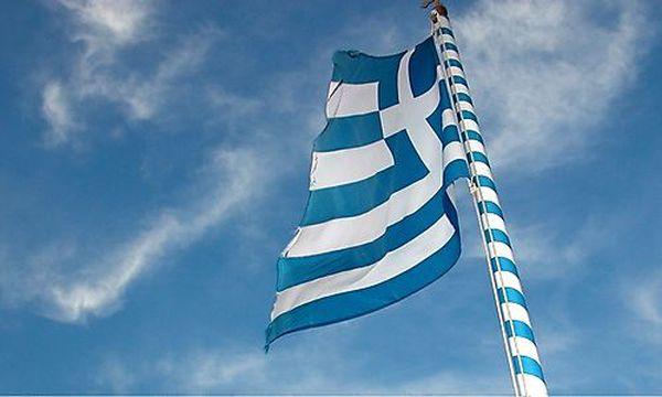 Griechische Flagge /