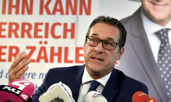 Heinz-Christian Strache / Bild: APA/HERBERT PFARRHOFER