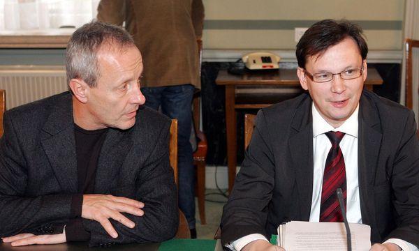 Pilz und Darabos, 2007 / Bild: APA