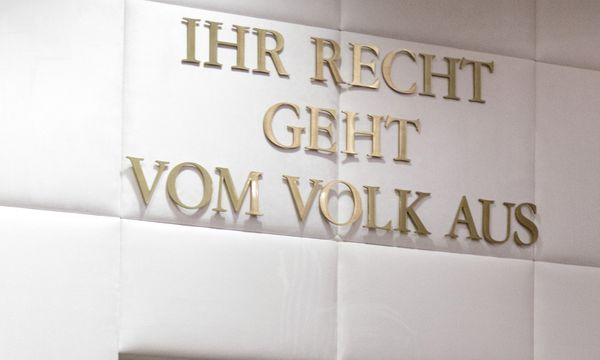 Insgesamt sind am VfGH seit Jahresbeginn drei Posten vakant: der des Präsidenten sowie zweier Verfassungsrichter. / Bild: (c) APA/GEORG HOCHMUTH