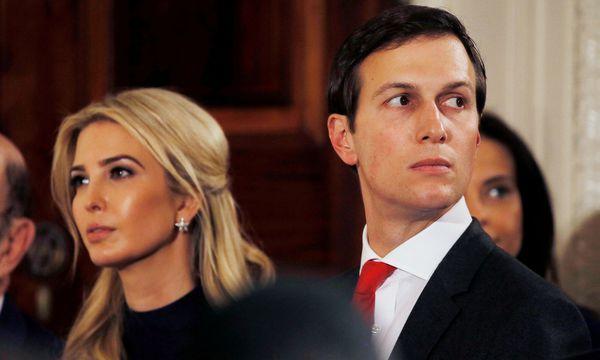 Präsidententochter Ivanka Trump und ihrem Ehemann Jared Kushner / Bild: (c) Reuters