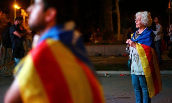 Hochspannung in Barcelona / Bild: REUTERS