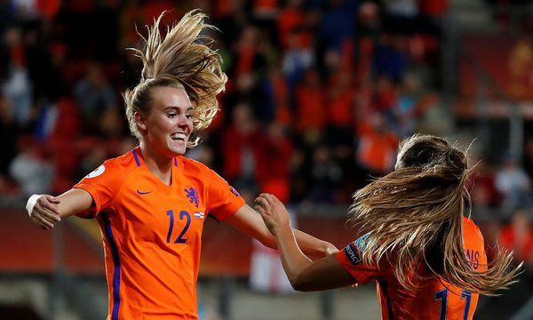 Jubel der Niederländerinnen / Bild: REUTERS
