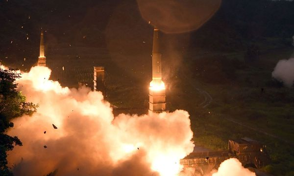 Raketentest in Nordkorea / Bild: APA/AFP/STR