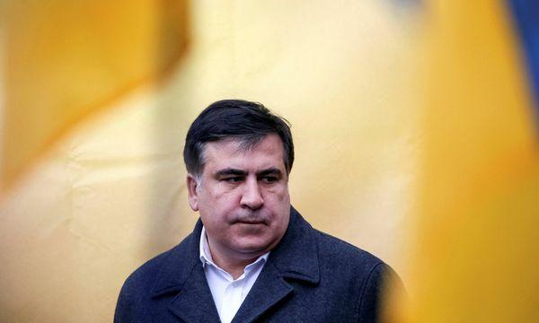 Sitzt im Ausland fest: Micheil Saakaschwili.  / Bild: (c) REUTERS