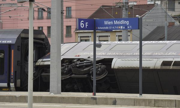 Zugsunglück am Karsamstag in Wien-Meidling / Bild: APA/HERBERT PFARRHOFER