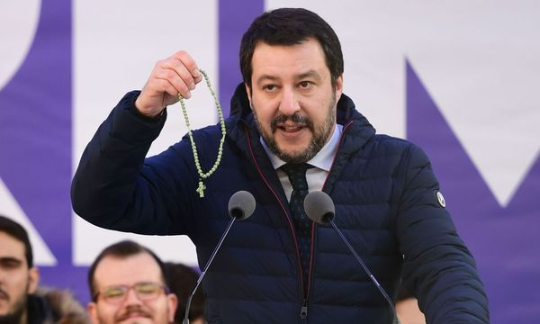 Salvini / Bild: APA/AFP/MIGUEL MEDINA