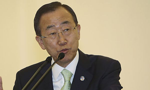 Ban Ki-moon / Bild: (c) AP (Achmad Ibrahim)
